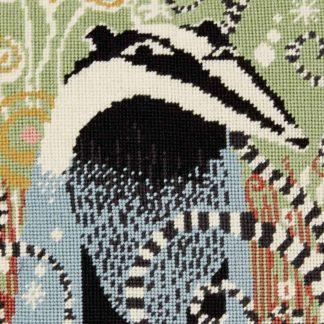 Ehrman-Needlepoint-Badger-2