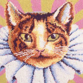 Ehrman-Needlepoint-Carnation-Cat-in-a-Ruff-2