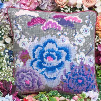 Ehrman-Needlepoint-Chrysanthemum-Blue-4
