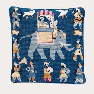 Ehrman-Needlepoint-Indian-Elephant-Blue-1