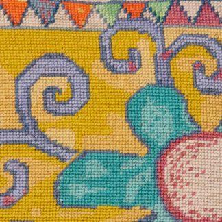 Ehrman-Needlepoint-Klimt-Circus-3