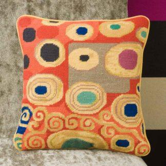 Ehrman-Needlepoint-Klimt-Saffron-1