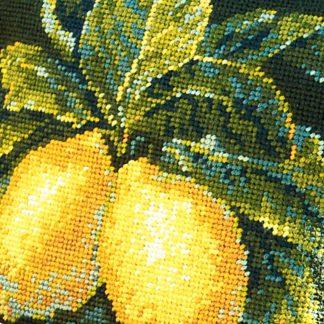Ehrman-Needlepoint-Lemons-Green-2