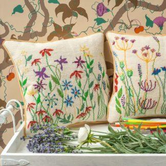Ehrman-Needlepoint-Maze-Meadow-Flowers-2