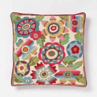 Ehrman-Needlepoint-Mexican-Flowers-Pink-1