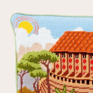Ehrman-Needlepoint-Noahs-Ark-Cushion-3