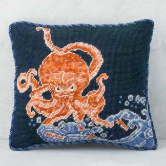 Ehrman-Needlepoint-Octopus-Cushion-2
