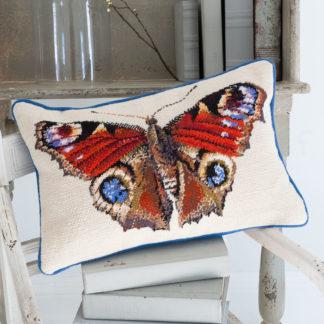 Ehrman-Needlepoint-Peacock-Butterfly-Cream-1
