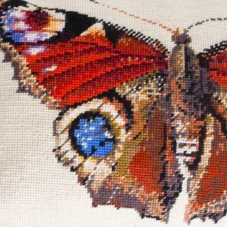 Ehrman-Needlepoint-Peacock-Butterfly-Cream-2