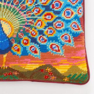 Ehrman-Needlepoint-Peacock-at-Sunset-3