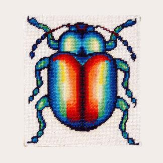 Ehrman-Needlepoint-Rainbow-Beetle-1