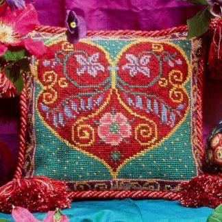 Ehrman-Needlepoint-Rainbow-Renaissance-Heart-1