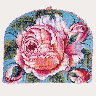 Ehrman-Needlepoint-Rainbow-Rose-Teacosy-1