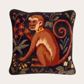 Ehrman-Needlepoint-Runting-Rug-Monkey-1