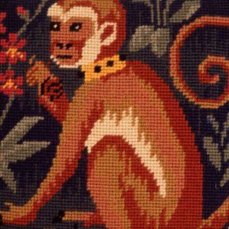 Ehrman-Needlepoint-Runting-Rug-Monkey-2