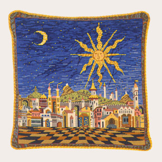 Ehrman-Needlepoint-Starry-Night-Cushion-1