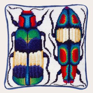 Ehrman-Needlepoint-Two-Jewel-Beetles-1