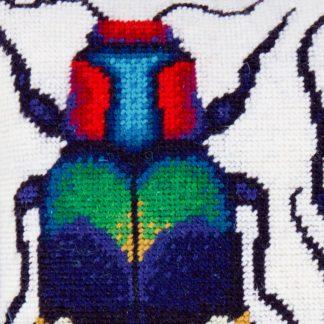 Ehrman-Needlepoint-Two-Jewel-Beetles-2