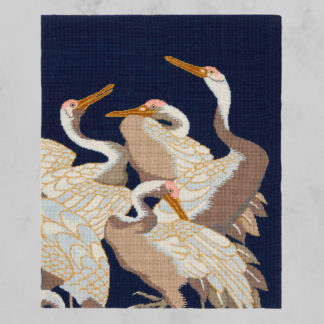Ehrman-Needlepoint-White-Cranes-Panel-11