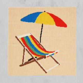 Ehrman-Needlepoint-Yellow-Deckchair-1