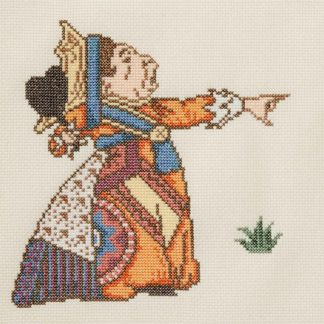 Ehrman-Queen-Of-Hearts-Cross-Stitch-1
