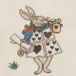 Ehrman-White-Rabbit-Cross-Stitch-1
