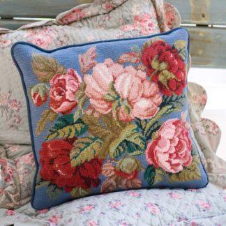 Ehrman-Needlepoint-Blooming-Roses-Blue-1