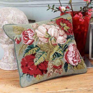 Ehrman-Needlepoint-Blooming-Roses-Green-1
