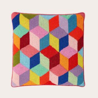 Ehrman-Needlepoint-Bright-Tumbling-Blocks-1-2