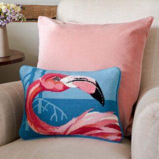 Ehrman-Needlepoint-Pretty-Flamingo-1