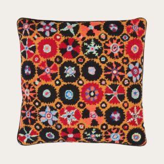 Ehrman-Needlepoint-Suzani-Black-Orange-1